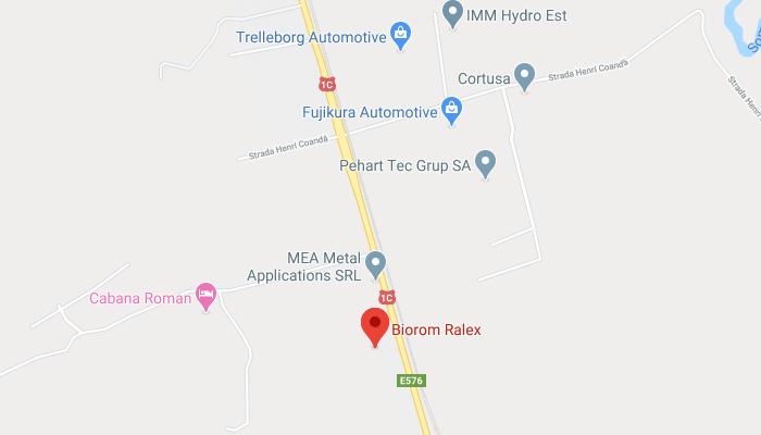 Biorom Ralex on the map